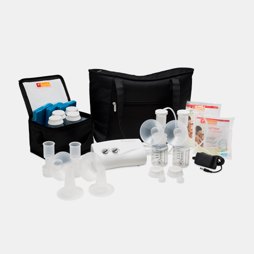 Ameda Finesse Double Electric Breast Pump with Dottie Tote